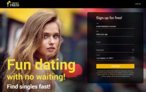 Onenightfriend.com sign up