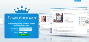 Established Men Sign Up