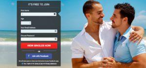 GayCupid.com main page