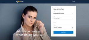 Meetmilfy sign up