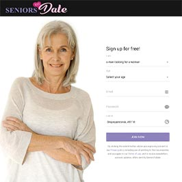 seniorstodate.com main page